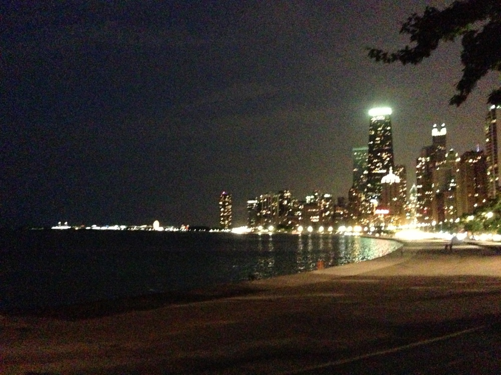 I stopped in the middle of a run (normally not an option) to take a picture of this beautiful Chicago skyline on the lake. The picture does not do it justice, but I'm so glad I captured this memory and was willing to pause and enjoy it!