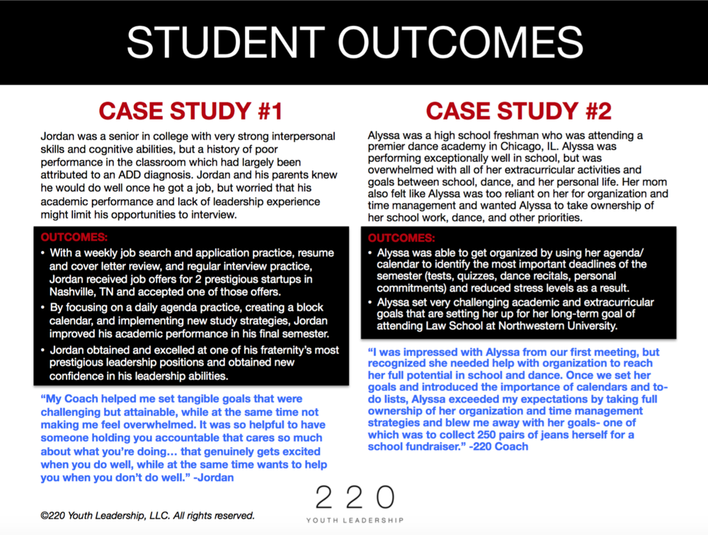 Click the image to download some recent case studies