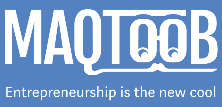 MAQTOOB for Entrepreneurs