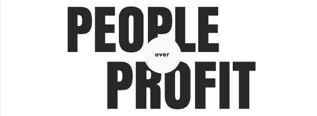 People Over Profit Roosevelt University