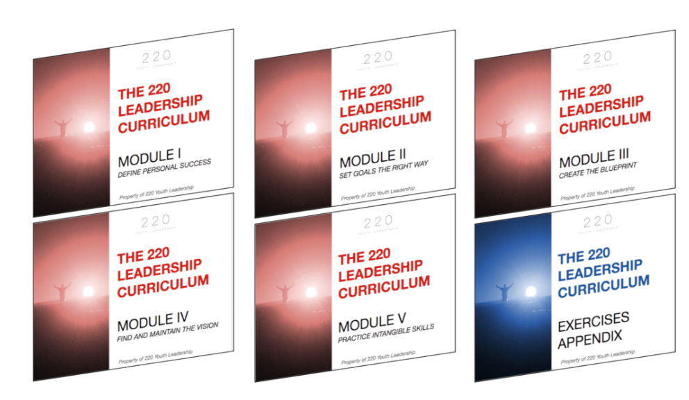 220 Leadership Curriculum Group License