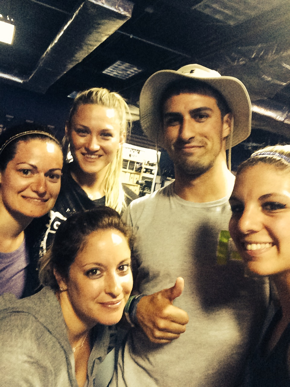 Post Sweaty WOD at Reebok CrossFit Bare Cove