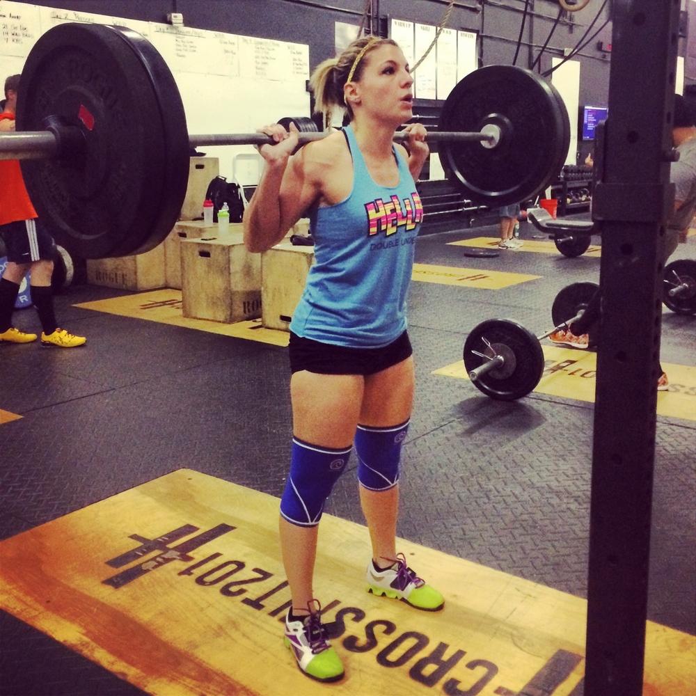 Lauren Squatting