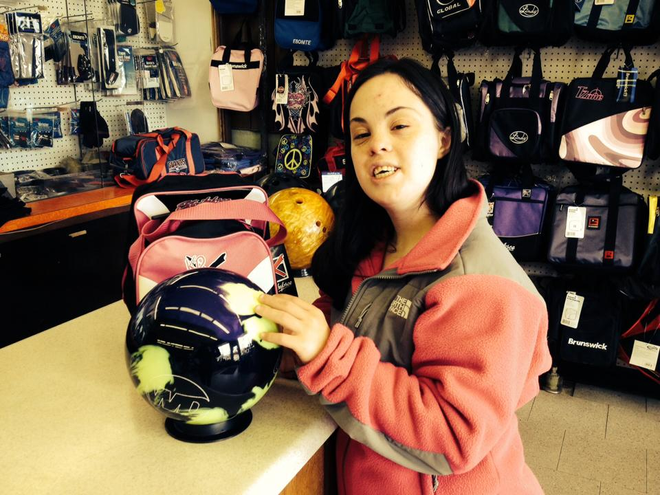Every Girl Needs Her Own Bowling Ball!