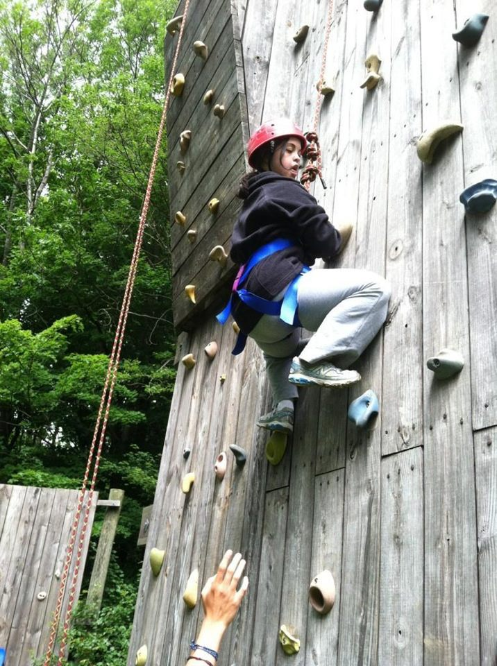 Conquering The Climbing Wall