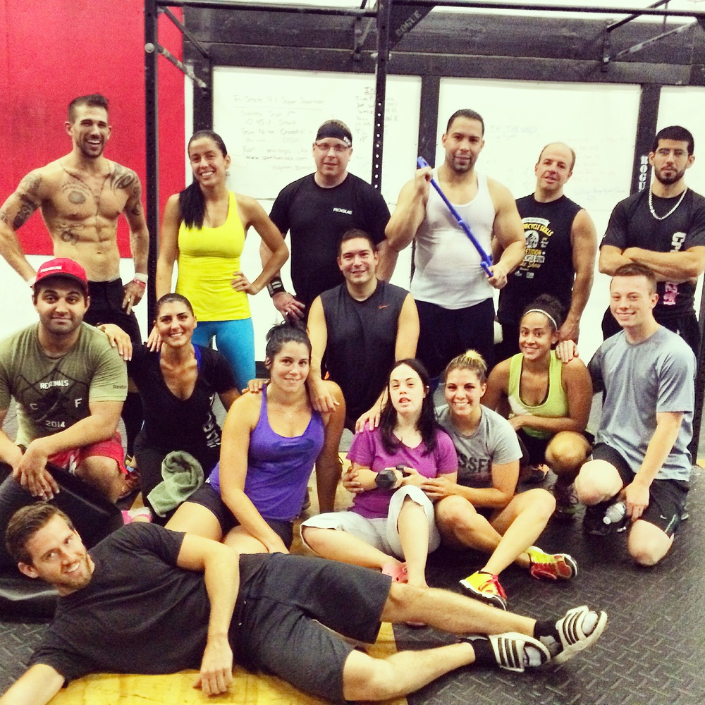 Me And My Sister With The CrossFit201 Crew