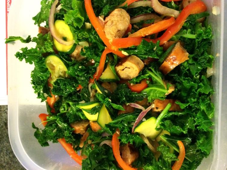 Kale And Veggies