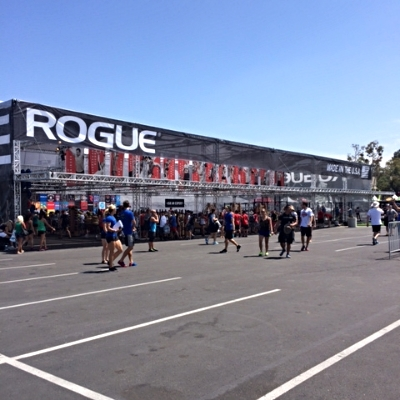 The Rogue tent where you can pick up all your favorite Rogue gear and products.