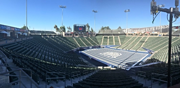 #CFGTennisCrew's home for the next few days.