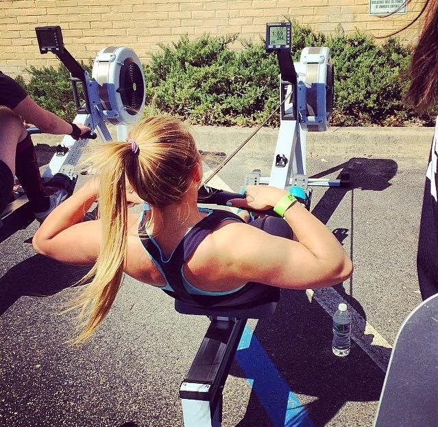 Nicole Rowing