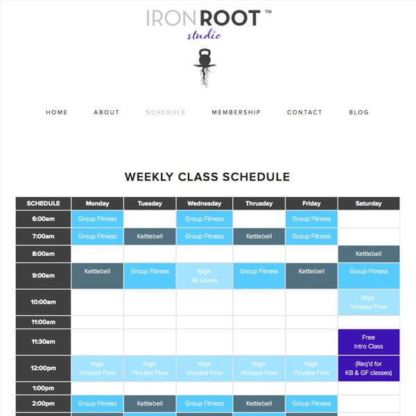Iron Root Studio Website