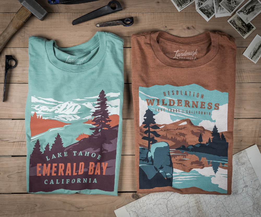 New Lake Tahoe Tees Now Available -