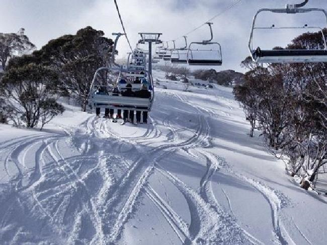 Guthega Freedom Chair, after the blizzard, photo from news.com.au