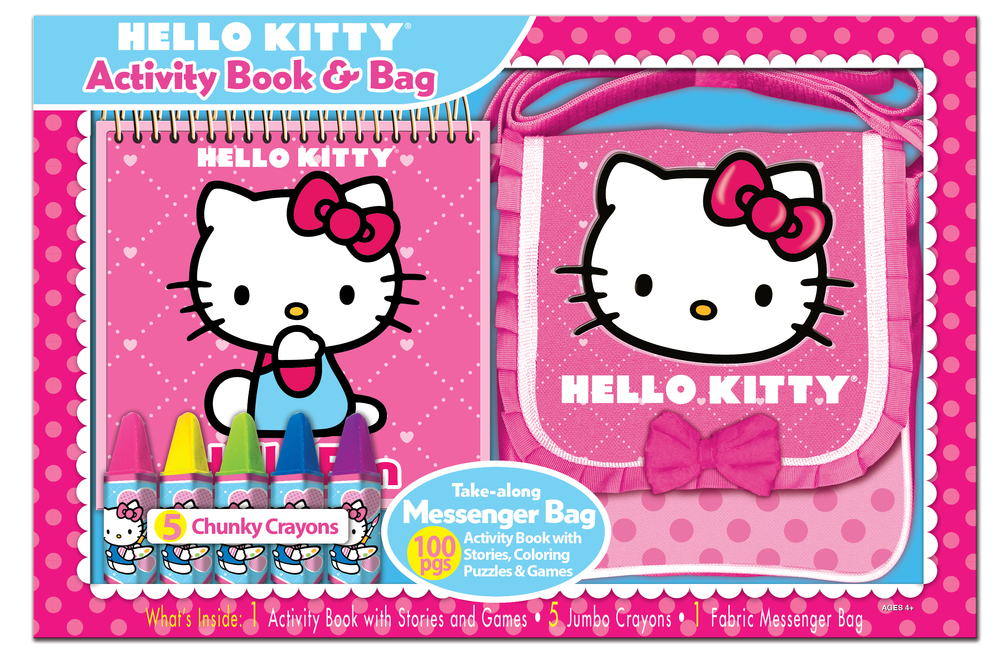 Hello Kitty messenger bag set designed & produced for Bendon, Inc. Licensed by Sanrio. 2014