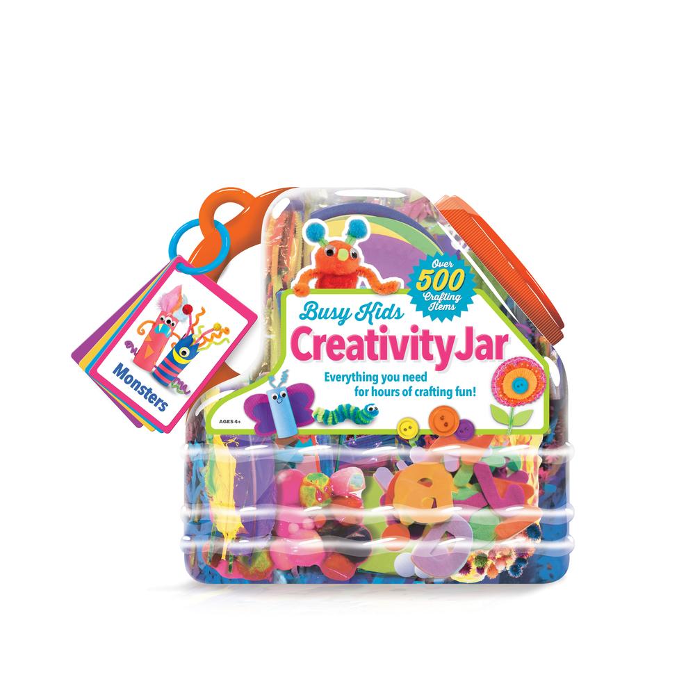 Creativity jar label & activity cards designed for Bendon, Inc. 2015