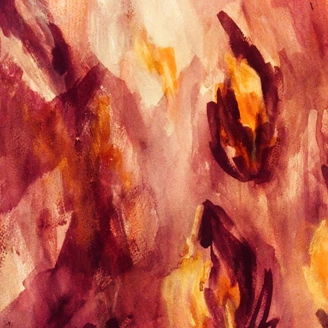 ...get me out of my way... I'm still learning how to walk in my fire, live in my fire, love in my fire... . 📷 | me 📝 | Trevor Hall 🎼 #fire #lessons #surrender #source #iamthatiam #warmth  #growth #artistsoninstagram #processingwithpaint #trevorhall #sagitarius