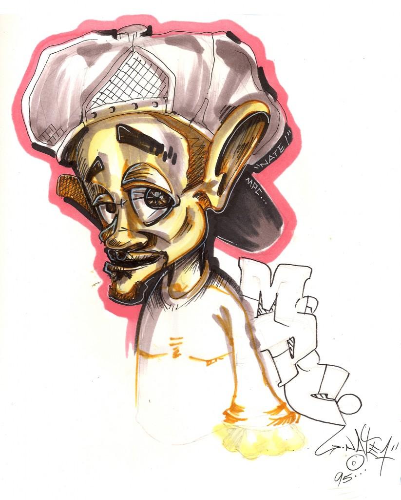 Bboy Sketch 1997