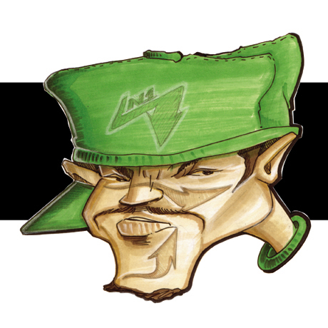Bboy Green Hat 1997