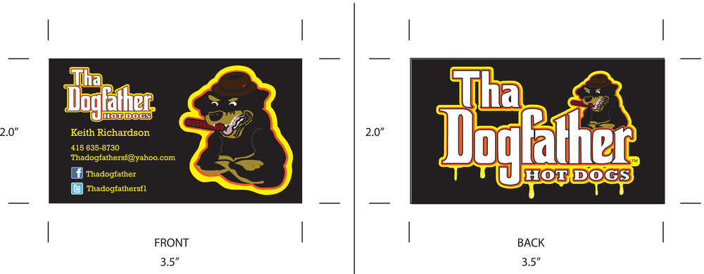 Tha Dogfather Business Card