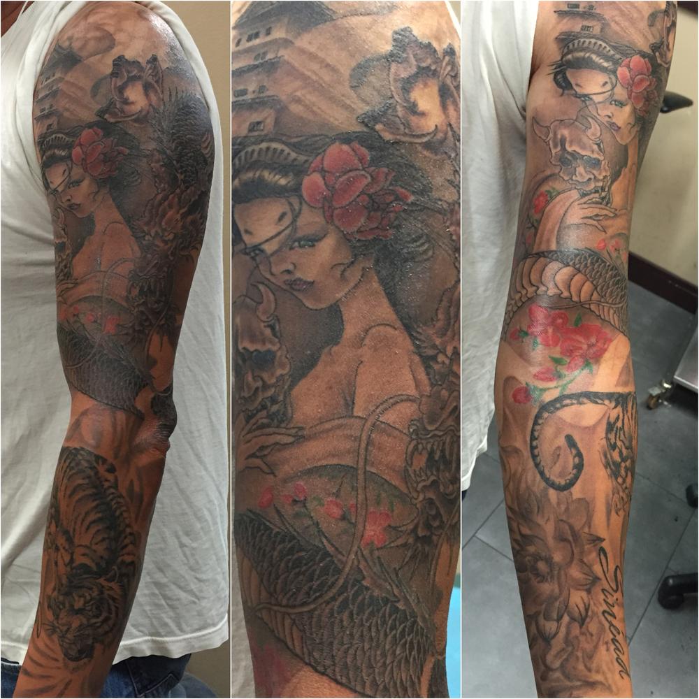 Vu Tran tattoo artist