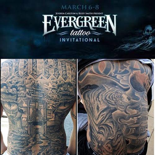Evergreen tattoo invitational Oregon 2016