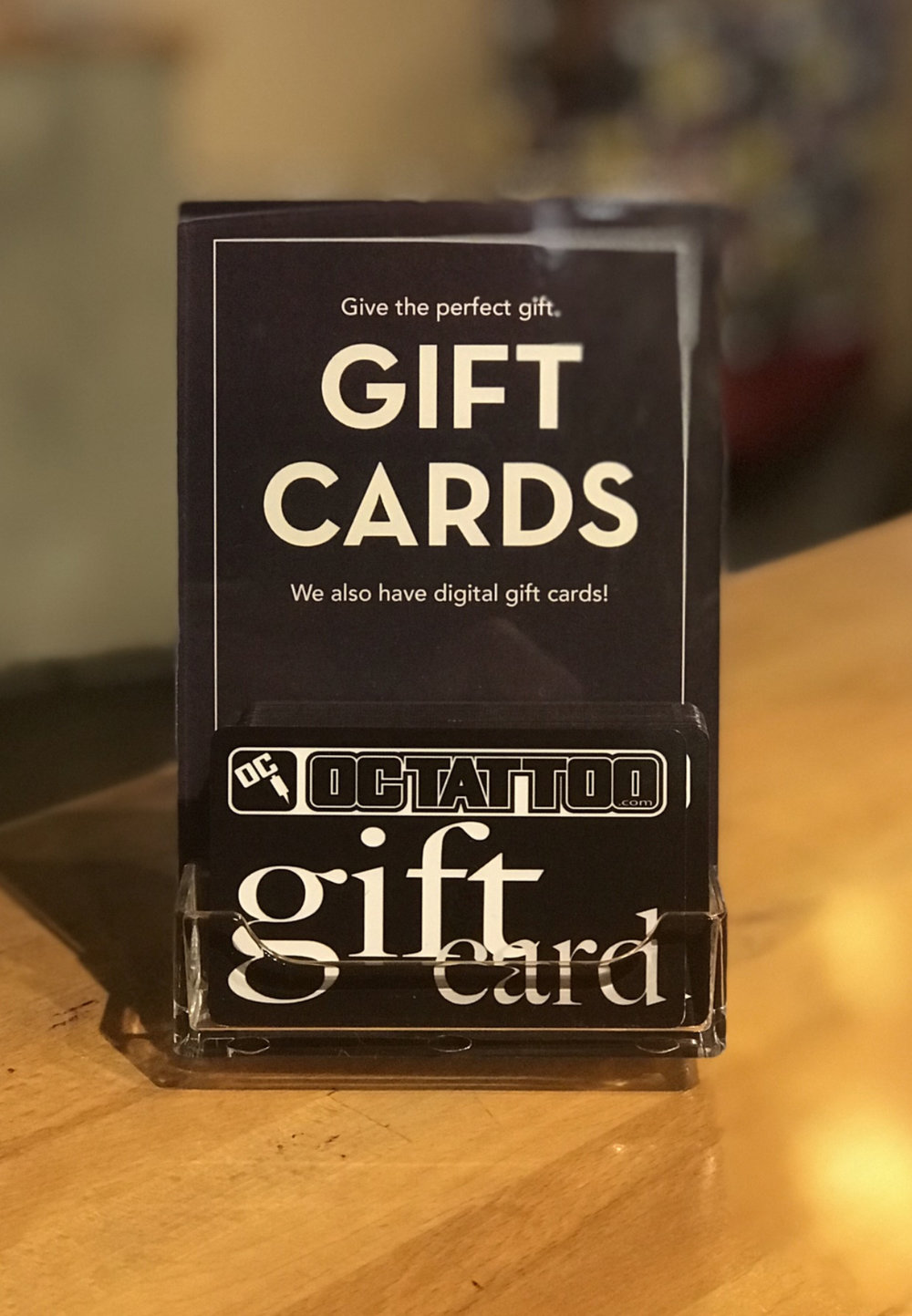 20 gift cards available in store or online — OC TATTOO SHOP - Orange ...