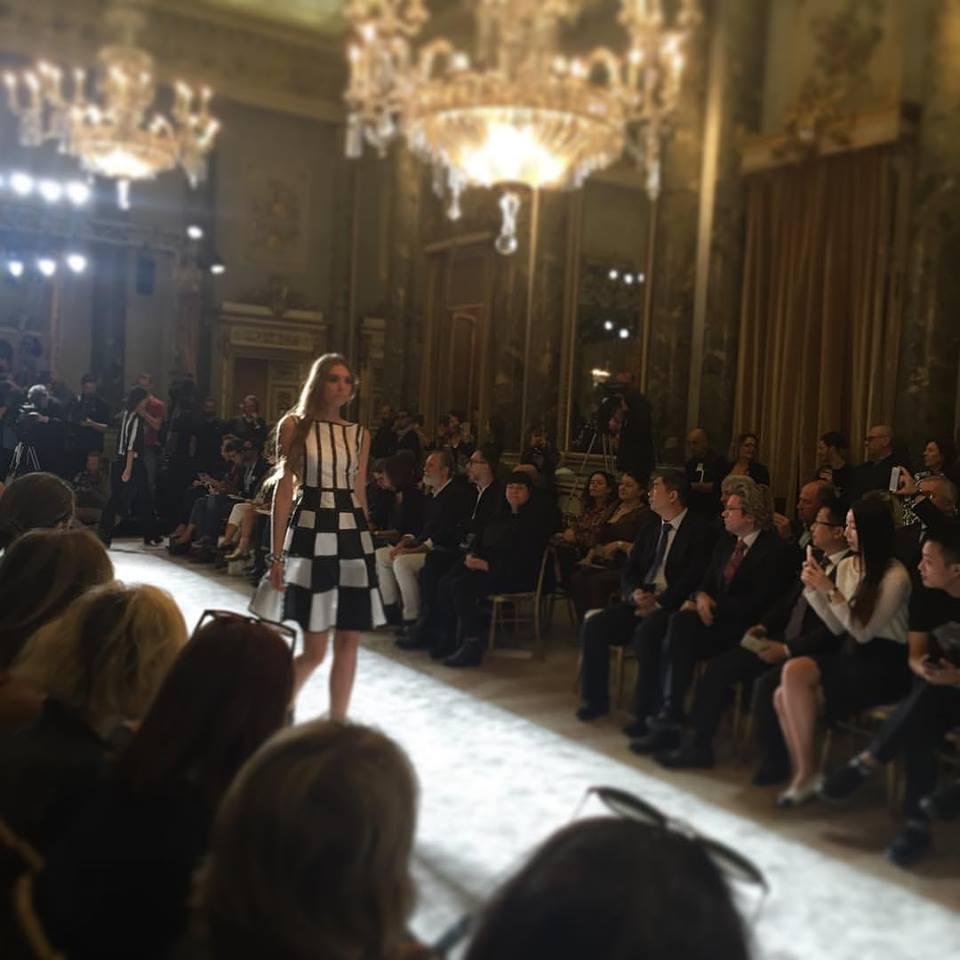 Gli studenti ospiti alla Milano Fashion Week