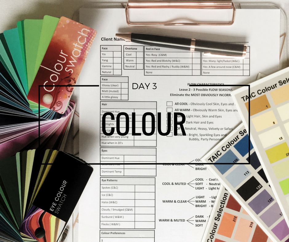 Day 3 Skin tone your ideal colours