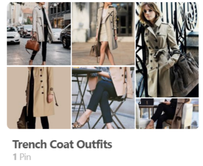 Trenchcoat outfit ideas