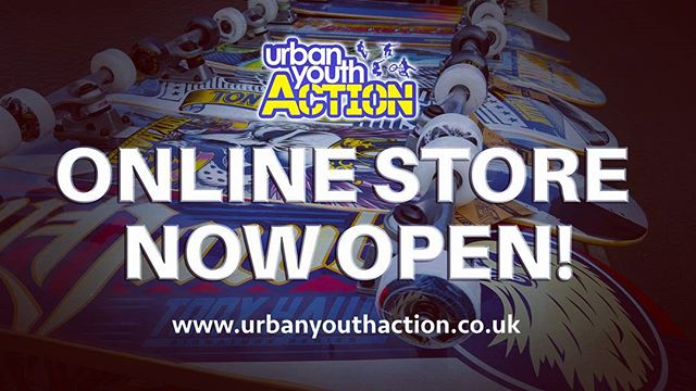 We now have an online store where you can buy skateboards, scooters & accessories!  Visit www.urbanyouthaction.co.uk #skateboarding #scooting #extremesports