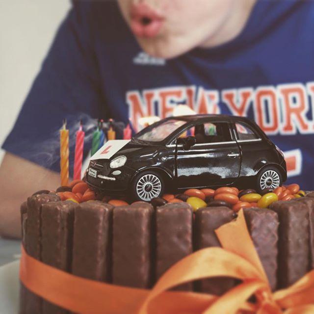 Celebrating 17 years of this lovely fella. ------------------------------- #birthday#cake#celebrations#goodtimes