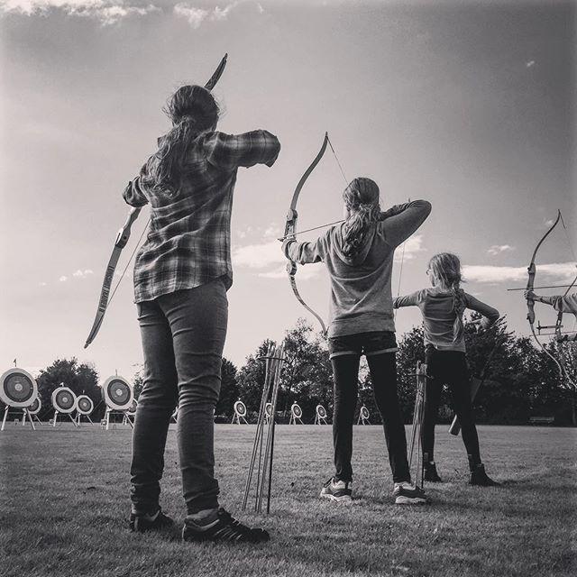 First #Archery competition. _________________________________ #thisgirlcan#silver#hurrah#sport#gooutside#underabigsky#loveourbigkids#childhoodunplugged#letthekids