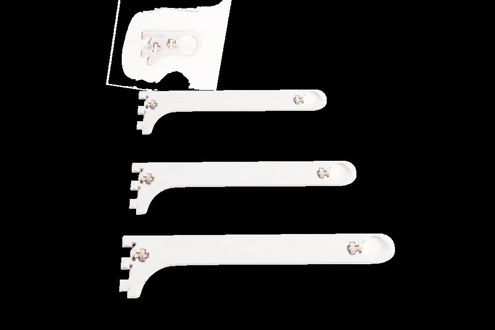 bracket gantumgan chrome/ hanger bracker