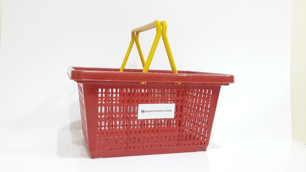 Keranjang Plastik (Plastic Shopping Basket)
