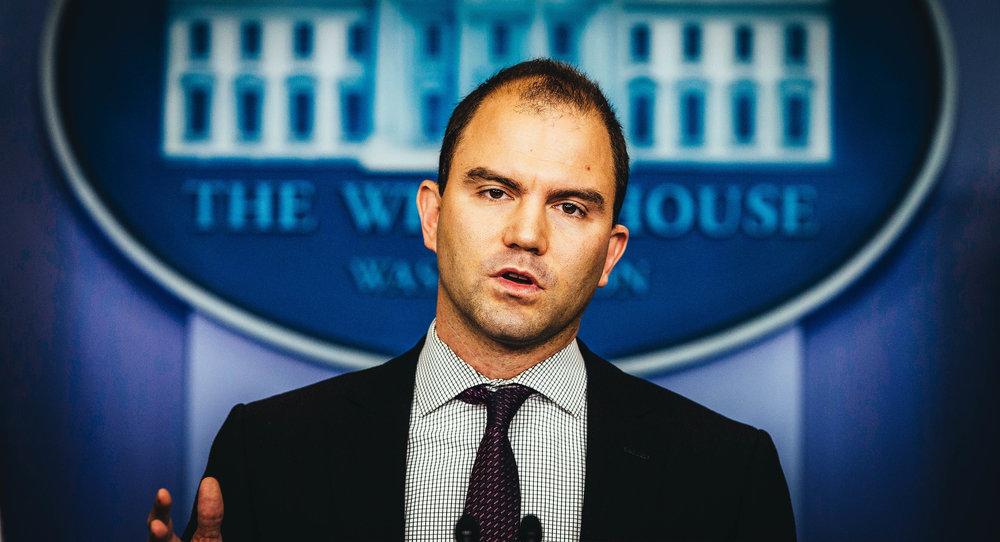 Ben Rhodes, asesor del presidente Barack Obama. (AP)