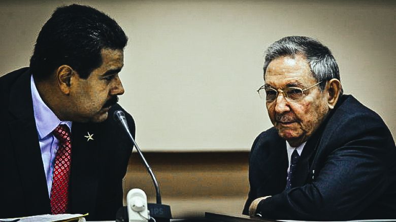 Nicolás Maduro y Raúl Castro. (EFE)