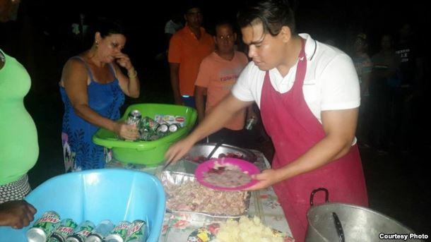 Cáritas Panamá ha ofrecido albegue y alimentos a migrantes cubanos en los últimos 15 meses. Cortesía Cáritas Panamá.