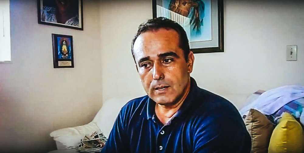 Eduardo Cardet, coordinador nacional del MCL. (MARTINOTICIAS)