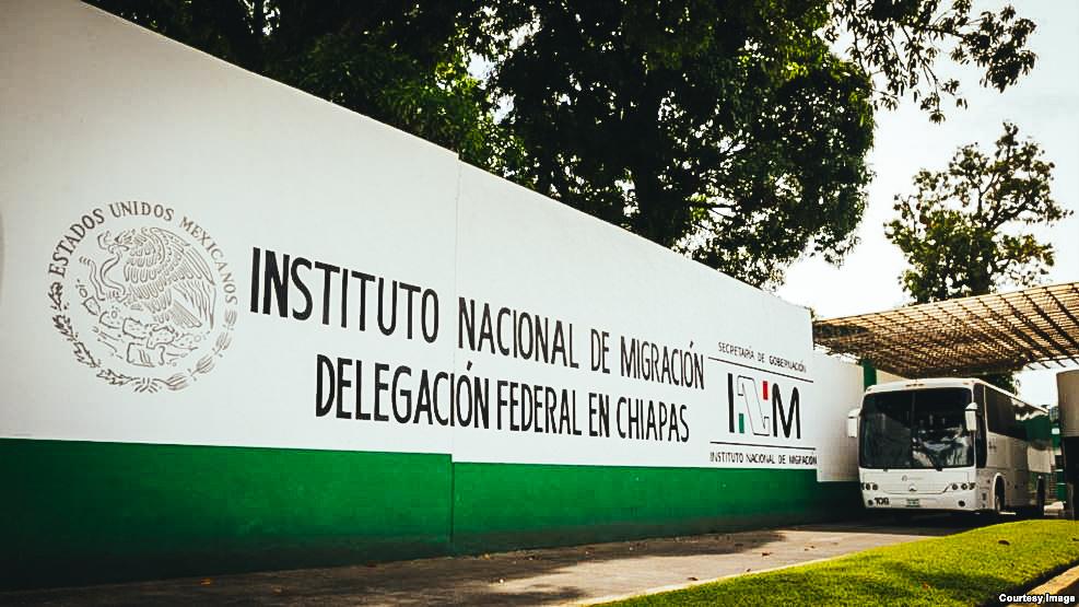 Estación Migratoria Siglo XXI, de Tapachula, Chiapas, México.