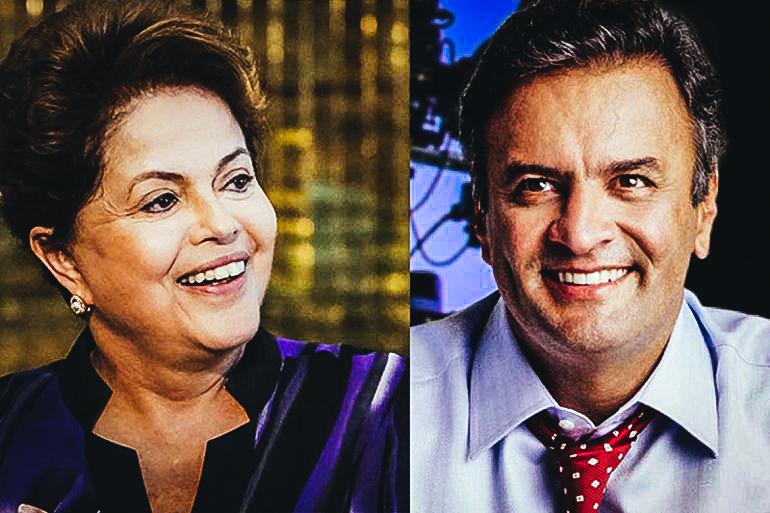 El senador brasileño Aécio Neve del Partido de la Social Democracia Brasileña (PSDB) se disputaba la presidencia con Dilma Rousseff en los comicios del 2014. (FOTO PORTAL DO LITORAL PB)