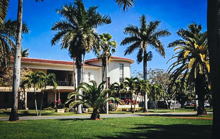 Vista parcial de una de las instalaciones de Barry University en Miami Shores.