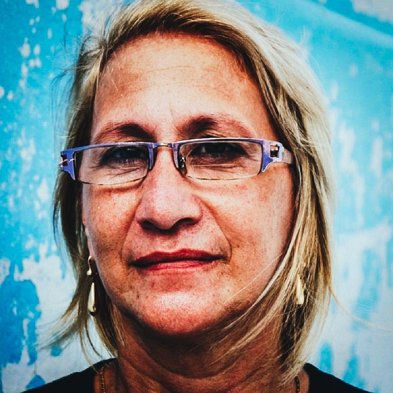 """La Dama de Blanco María Cristina Labrada Varona asegura que además de enfrentar al Gobierno de la isla tienen que luchar contra quienes identifica como """"traidores"""", es decir a los agentes que trabajan para el régimen y logran penetrar las células de las organizaciones opositoras."""