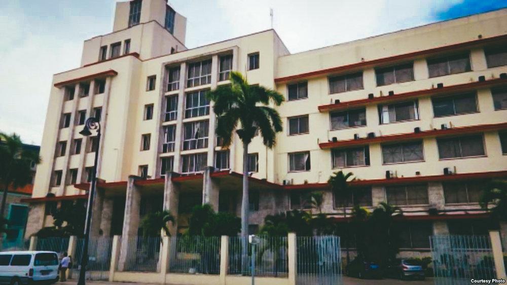 Sede del Grupo de Administración Empresarial S.A., GAESA, un verdadero pulpo controlado por los militares.