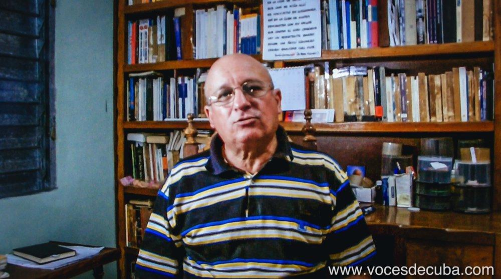 "Rodaje de ""Voces de Cuba"" con Félix Navarro"