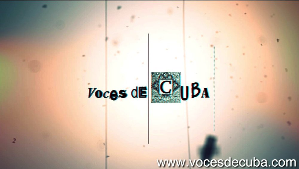 """Primer cartel de """"Voces de Cuba"""""""