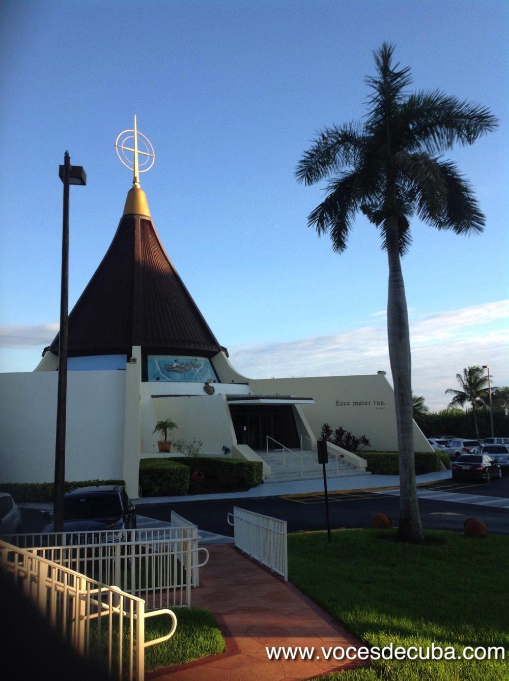 """Vista de la Ermita de la Caridad donde se rodó """"Voces de Cuba"""" con Dagoberto Valdés"""