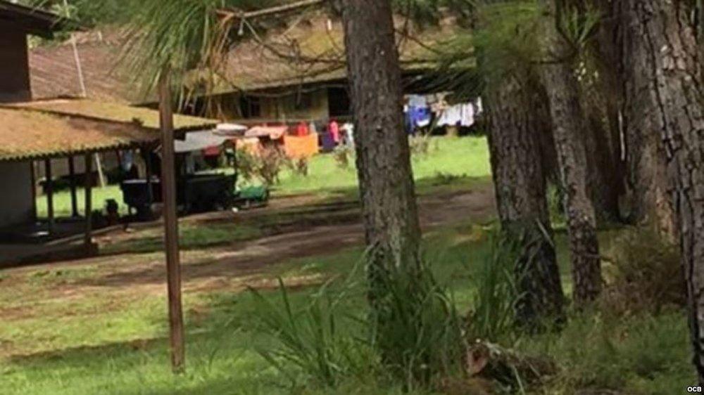 Campamento de Planes de Gualaca, Chiriquí. Foto Ricardo Quintana.