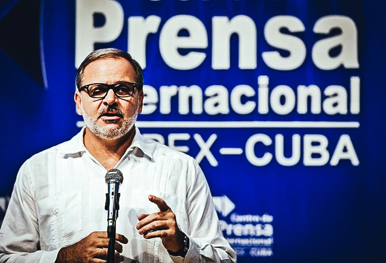 Eugenio Martínez Enríquez, director general de América Latina y el Caribe del MINREX.EFE
