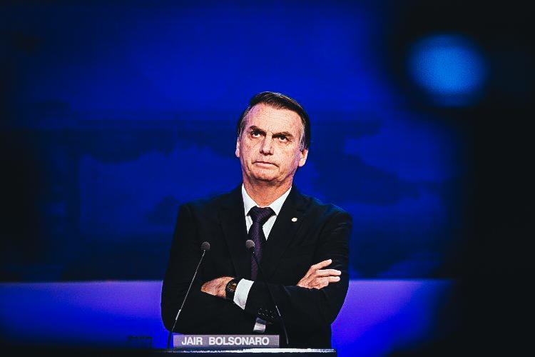 Jair Bolsonaro , presidente electo de Brasil.