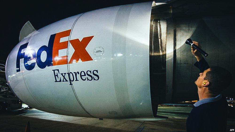 Avión de FEDEX